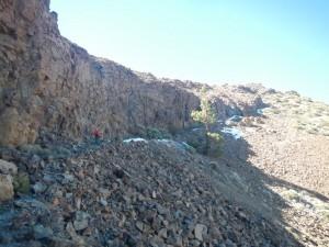 Aufstieg zum Guajara