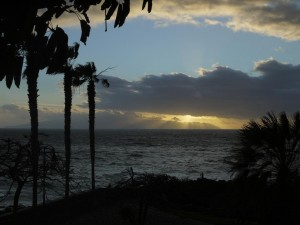 Blick nach La Gomera
