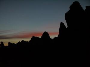 Abendstimmung im Teide Nationalpark