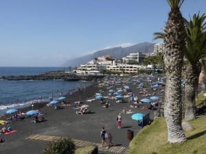 Playa la Arena - Puerto de Santiago