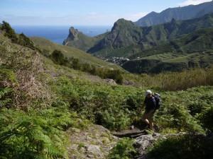 Aufstieg zur Cumbrecilla